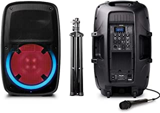 ION Audio Total PA Plus Glow 2 High-Power Bluetooth PA System with Lights