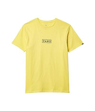 Vans Easy Box Short Sleeve T-Shirt (Yellow Cream) Men