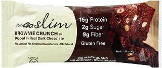 NuGo Nutrition - Slim Bar Brownie Crunch - 1.59 oz(Pack of 12)