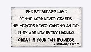 Best lamentations 3 22 and 23 Reviews