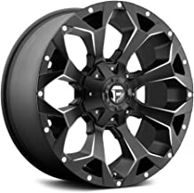 Fuel D546 Assault 22x12 5x114.3/5x127 -44mm Black/Milled Wheel Rim