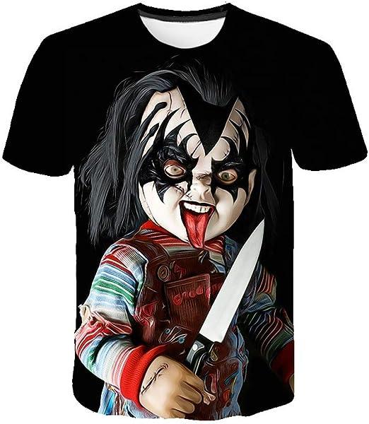 Meibida Camiseta de Hombre Personalizada Camiseta con ...