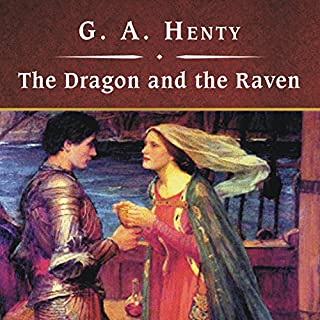The Dragon and the Raven audiobook cover art