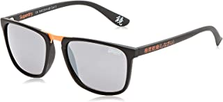 Superdry Aftershock Unisex Sunglasses - Matte Black - SDAFTERSHOCK-199, size - 54-20-148