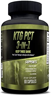 Keep Those Gains PCT 3-in-1 - Post Cycle Therapy - 60 Capsules