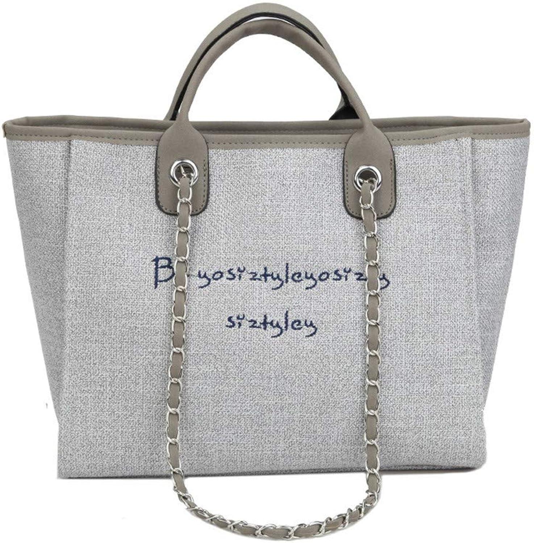 5d1a8f2840ffe LY WEY Frauen Frauen Frauen - Leinwand Mode Handtasche Einheitlichen  Umh auml ngetasche Schr auml ge Tasche Multi - Funktions - B07Q2NP21D  Creative 3b5164