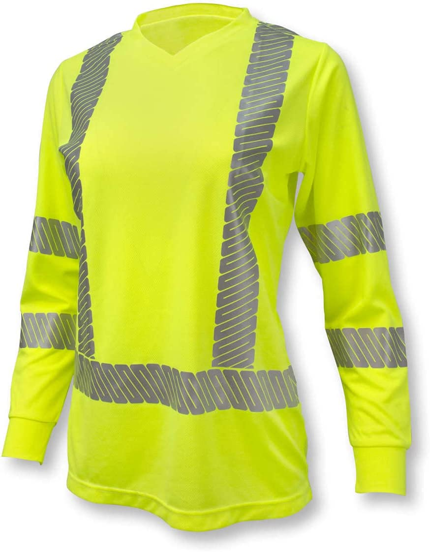 Radians ST21 Max 74% OFF Class 3 High Visibility Long Women's T-Shirt Ranking TOP8 Sleeve