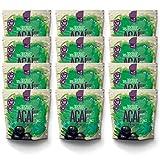 12 x Pulpa de Açaí Puro orgânico (12x400g) | VEGANO | SIN AZÚCAR