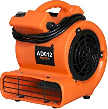 AstroDry Floor Blower Fan Air Mover,1/12 HP 349 CFM Portable Small Carpet Dryer for Household Ventilation, Home Restoration-Orange, AD012