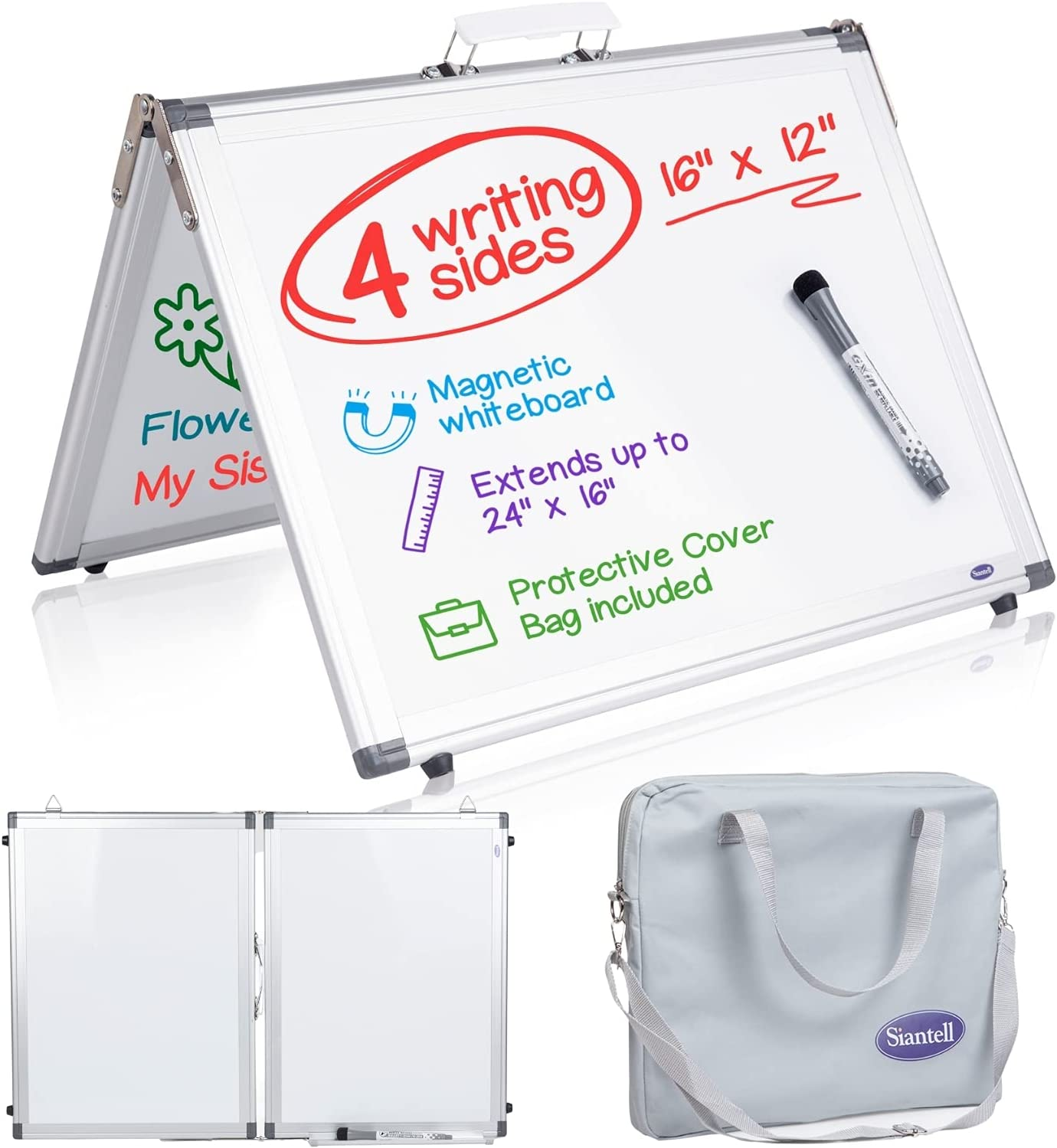Small Dry Erase White Ranking TOP4 Board – New Shipping Free Shipping Whiteboard Sides Sm Desktop 4