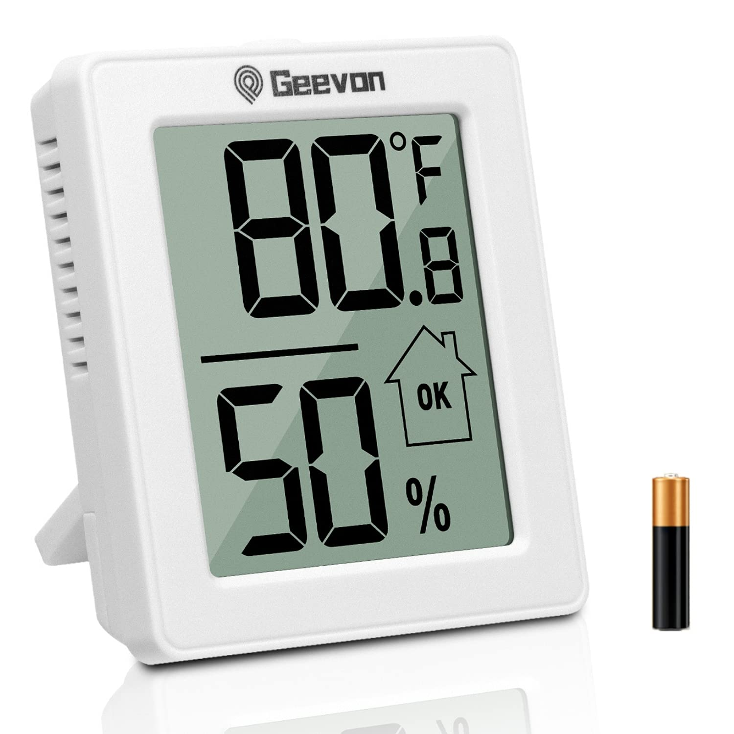 Geevon Humidity Max 74% OFF Gauge Room Thermometer Ba Limited time for free shipping Hygrometer with Indoor