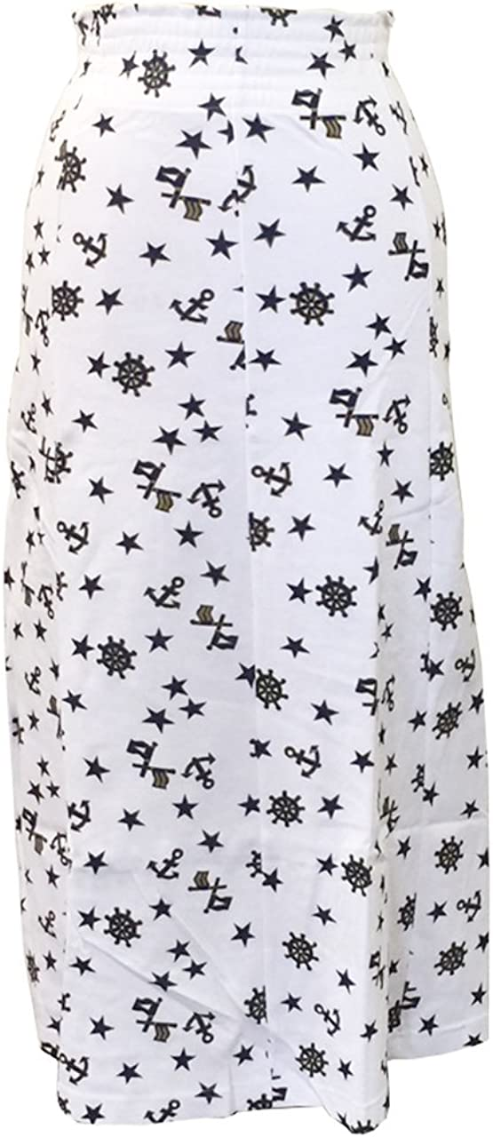 Lisa Ashley Women's Petite Long Skirts Flare A-Line Maxi Skirt with Star Prints