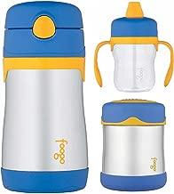 Thermos Foogo 10oz Straw Bottle, 10oz Food Jar, and 8oz Soft Spout Sippy Cup