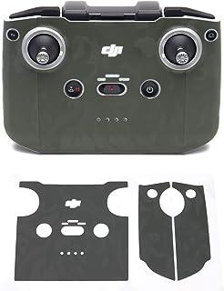 Wrapgrade Skin kompatibel med DJI Mini 2 | Fjärrkontroll (ARMY BUMPY CAMO)