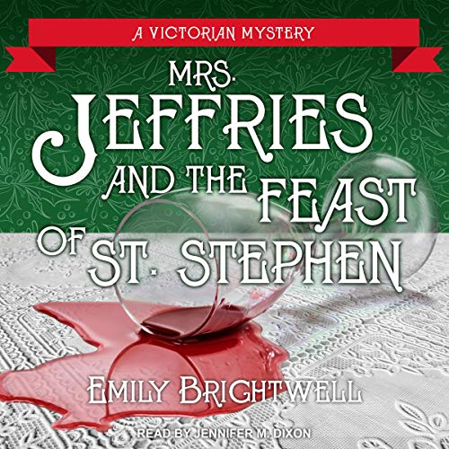 Mrs. Jeffries and the Feast of St. Stephen audiobook cover art