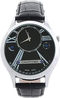 كاريزما ساعة يد كاجوال للرجال، بسوار من جلد ، C6650AA