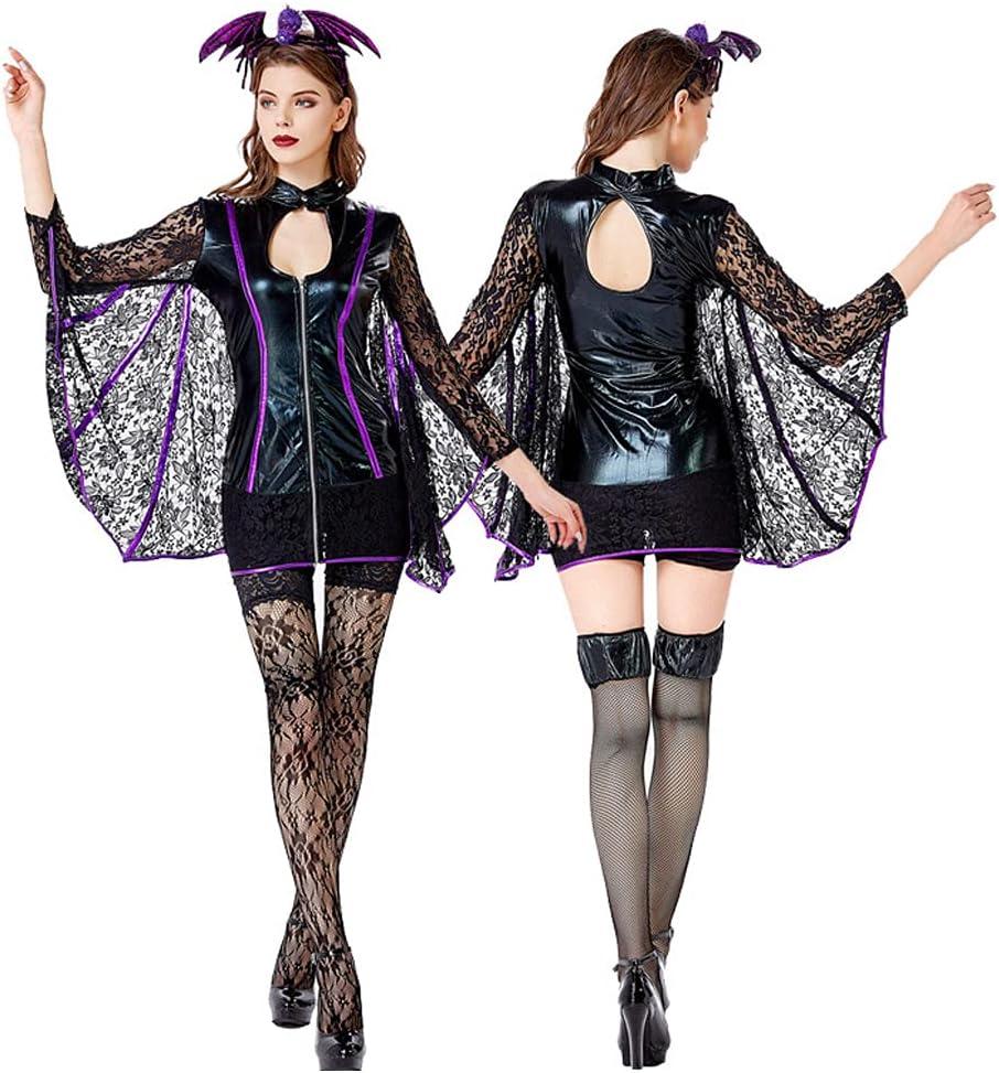 TTIK Halloween Carnival Party Chicago Max 43% OFF Mall Women Batman Bodysuit Stage P Sexy
