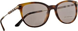 Burberry B 2255-Q-F Eyeglasses 53-18-140 Light Havana w/Demo Clear Lens 3316 BE BE2255Q B2255-Q-F