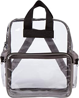 Clear Backpack- See Through Daypack Clear Backpacks- in Medium or Small