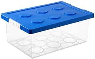 Lpiotyucwh Paniers et Boîtes De Rangement, Boîte de rangement des jouets, classification du bloc de construction, boîte de...