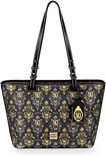 Disney Dooney and Bourke Haunted Mansion 50th Anniversary Tote