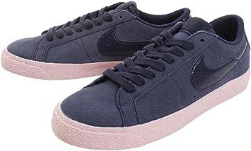 Nike SB Zoom Blazer Low Men's SB Skateboard Shoes 864347-402 (9.5 D(M) US), Bubblegum Obsidian Blue