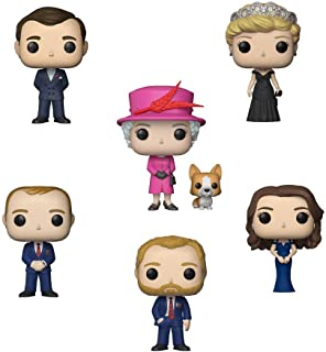 Funko Pop! Royals: The British Royal Family Collectible Vinyl Figures, 3.75