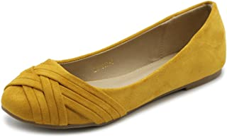 Ollio Womens Ballet Shoe Cute Casual Comfort Flat