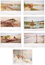 Set of 7 Posters of The Lewis & Clark Expedition - Certified Reproduction Artwork by John Ford Clymer