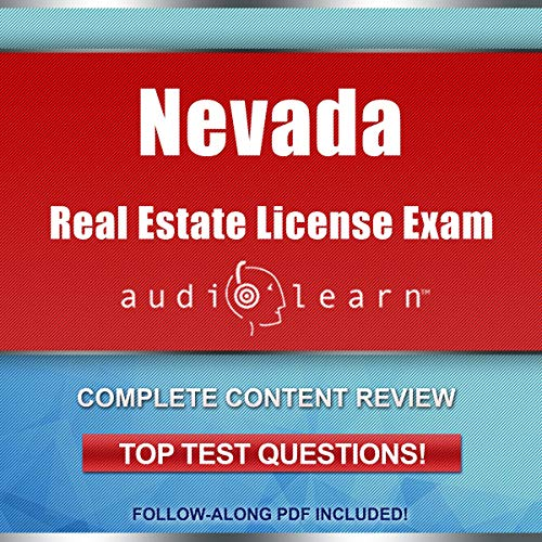 Nevada Real Estate License Exam AudioLearn  By  cover art