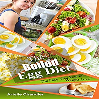 The Boiled Egg Diet: The Easy, Fast Way to Weight Loss!                   By:                                                                                                                                 Arielle Chandler                               Narrated by:                                                                                                                                 Sangita Chauhan                      Length: 1 hr and 48 mins     21 ratings     Overall 5.0