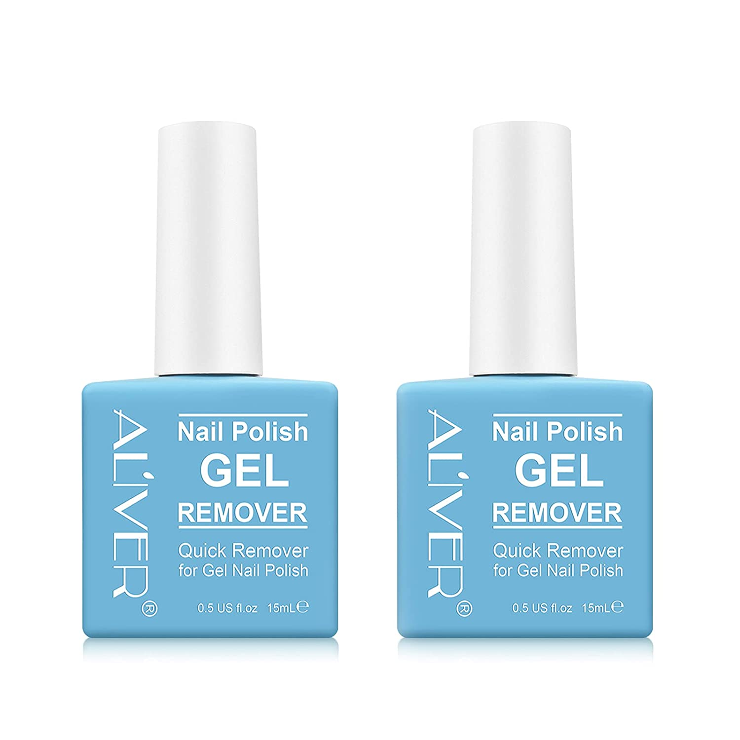 2 Pack Nail Polish Remover Quickly Gel Removes Easily Max 48% Cheap mail order specialty store OFF Soak-Off