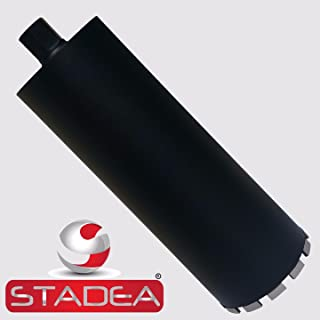 Stadea CBD107N Diamond Concrete Hole Saw Core Drill Bit For Concrete Brick Block Stone Masonry, 6 Inch Laser Welded Wet Dry 1 1/4-7 Thread