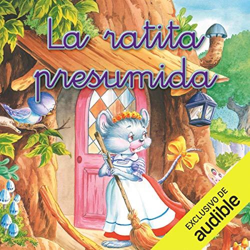 Diseño de la portada del título La ratita presumida (Narración en Castellano)