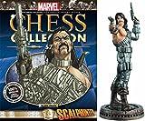 Figura de Ajedrez de Resina Marvel Chess Collection Nº 57 Scalphunter John Greyhound