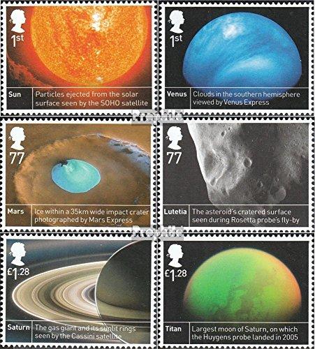 Royaume-Uni mer.-no.: 3366-3371 (complète.Edition.) 2012 européenne Agence Spatiale (Timbres pour Les collectionneurs) L´Espace