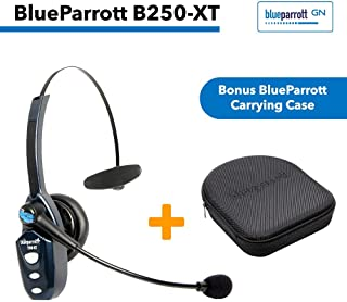 VXi BlueParrott B250-XT (202720) Ultra(89 Percent) Noise Canceling Bluetooth Headset with Bonus Protective Carrying Case
