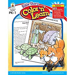Bible Story Color 'n' Learn! Book