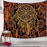 Capteur de rêves Cerfs tapisseries décoratives Salle de Bains Tapisserie...