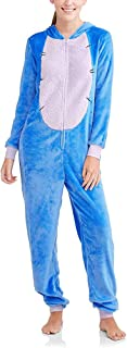 Women's Faux Fur Licensed Sleepwear Adult Costume Union Suit Pajama (Eeyore 2, XX-Large)