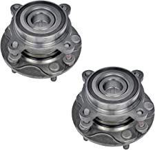 Bodeman - Pair 2 Front Wheel Hub and Bearing Assembly for 2008-2018 Toyota Sequoia / 2007-2018 Toyota Tundra - 4WD ONLY; Pickup Truck