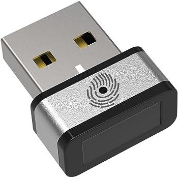PQI USB指紋認証キー My Lockey FIDO認定 Windows Hello機能対応 マイナンバー対策 1年保証 (国内正規品) DUFPSL