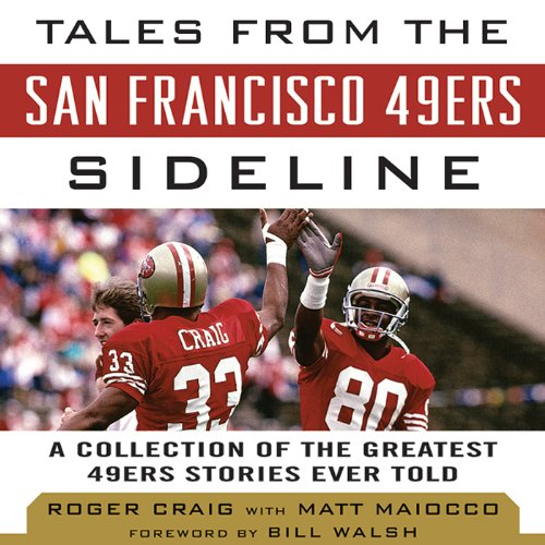 Tales from the San Francisco 49ers Sideline audiobook cover art