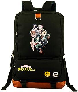 YOYOSHome - Mochila luminosa de anime My Hero Academia Boku no Hero Academia Cosplay Bookbag Daypack para portátil escolar