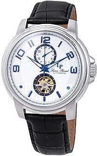 Open Heart Automatic Silver Dial Men's Watch LP-28001A-02S-BLA