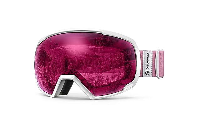 e3c2fec94ee9b OutdoorMaster OTG Ski Goggles - Over Glasses Ski Snowboard Goggles for Men