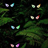 yofit Halloween 5 Pack LED Eye String Lights, Scary Colorful Eye Shaped Decoration Lights with Rope Easy to Hang for Halloween Light Projection and Halloween Party Decoration Outdoor Indoor Decor