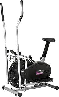 TecTake 1 Maquina Fitness Bicicleta eliptica Gimnasia estati