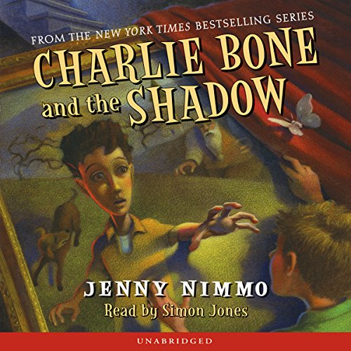 Charlie Bone and the Shadow audiobook cover art