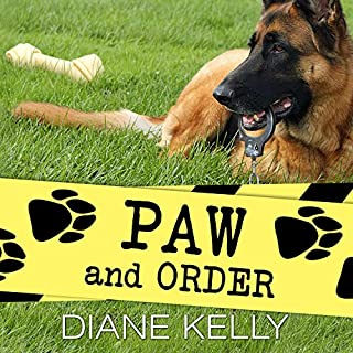 Paw and Order audiobook cover art